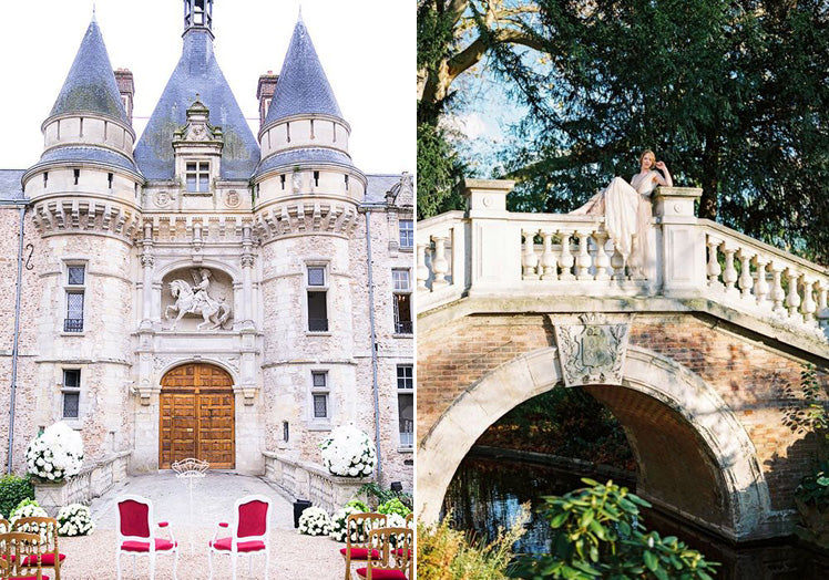 Chateau d'Esclimont and Parc Monceau - Paris wedding venues