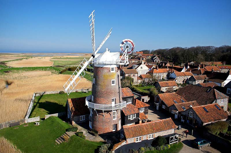 Cley Windmill - a stunning wedding venue
