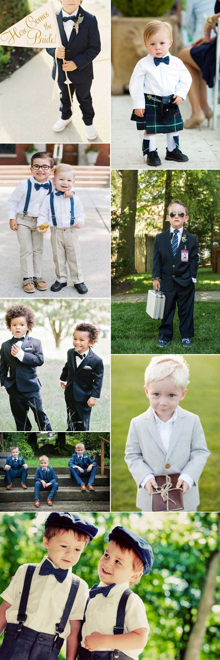 Super cute page boy style ideas