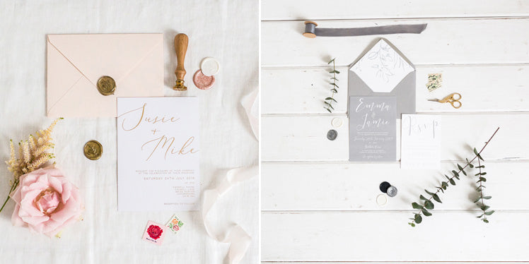 Eliza May Prints Winter Wedding Stationery