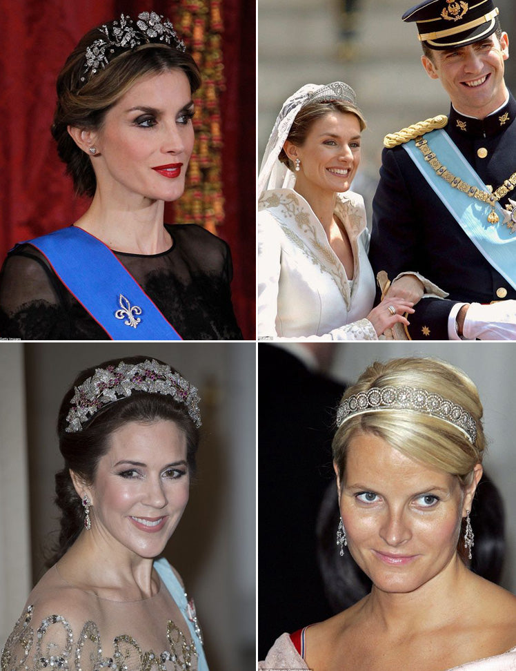 beautiful European Royal tiaras