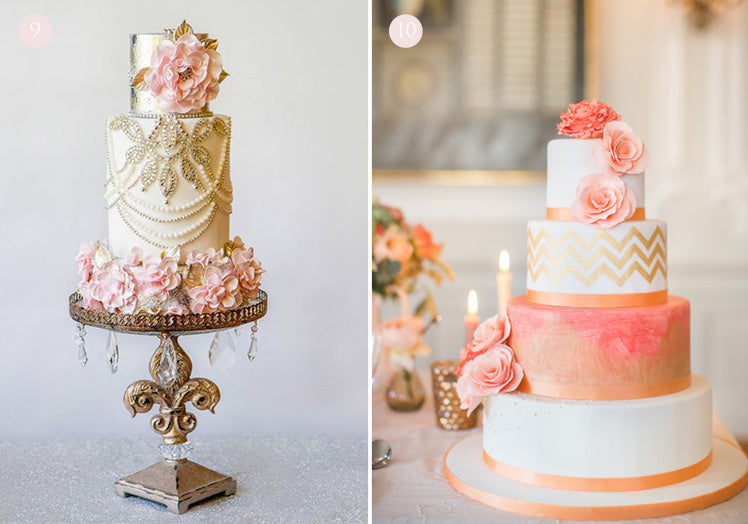 beautifully extravagant wedding cakes