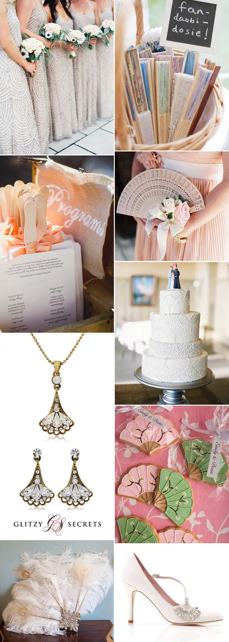 beautiful ideas to include fans in your wedding ideas