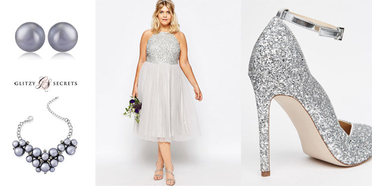 Elegant grey bridesmaid ideas