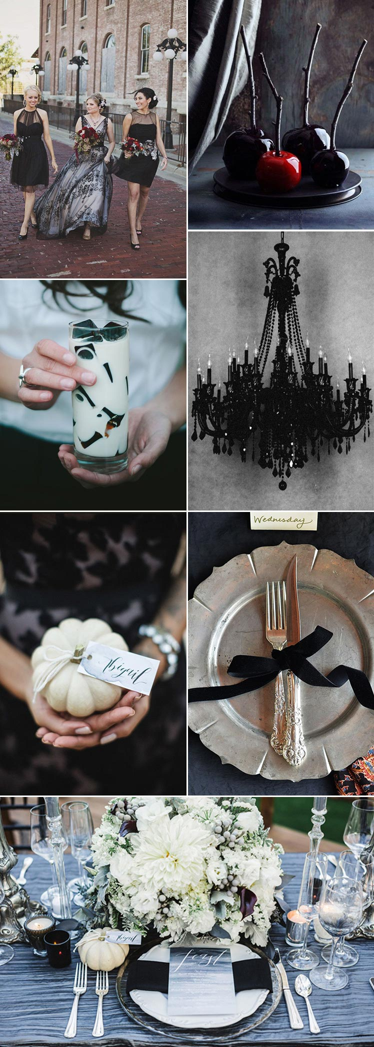 Halloween Inspired Wedding Theme