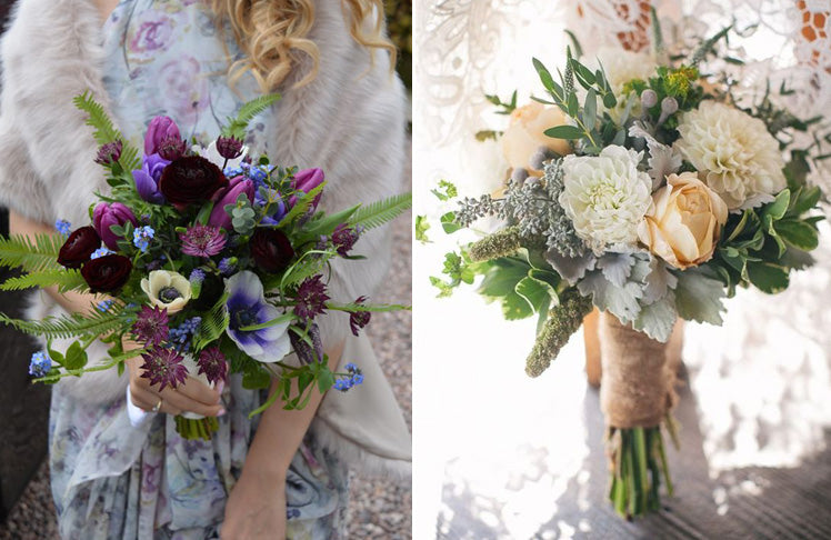 Gorgeous hand tied bouquets
