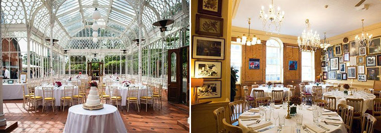 Wedding venues at Horniman Museum and The Union Club