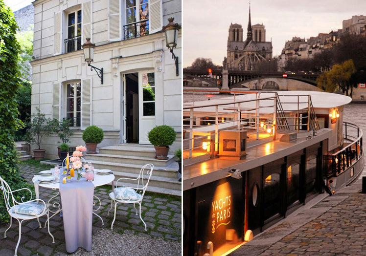 Hotel Particulier and Yachts de Paris - Paris wedding venues