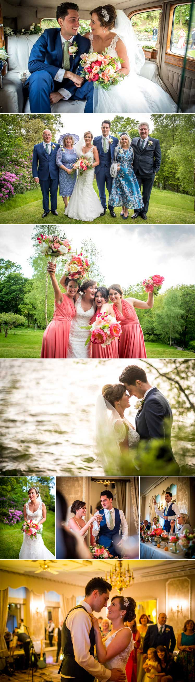 James Tracey's beautiful images of Julia and Alex's wedding day