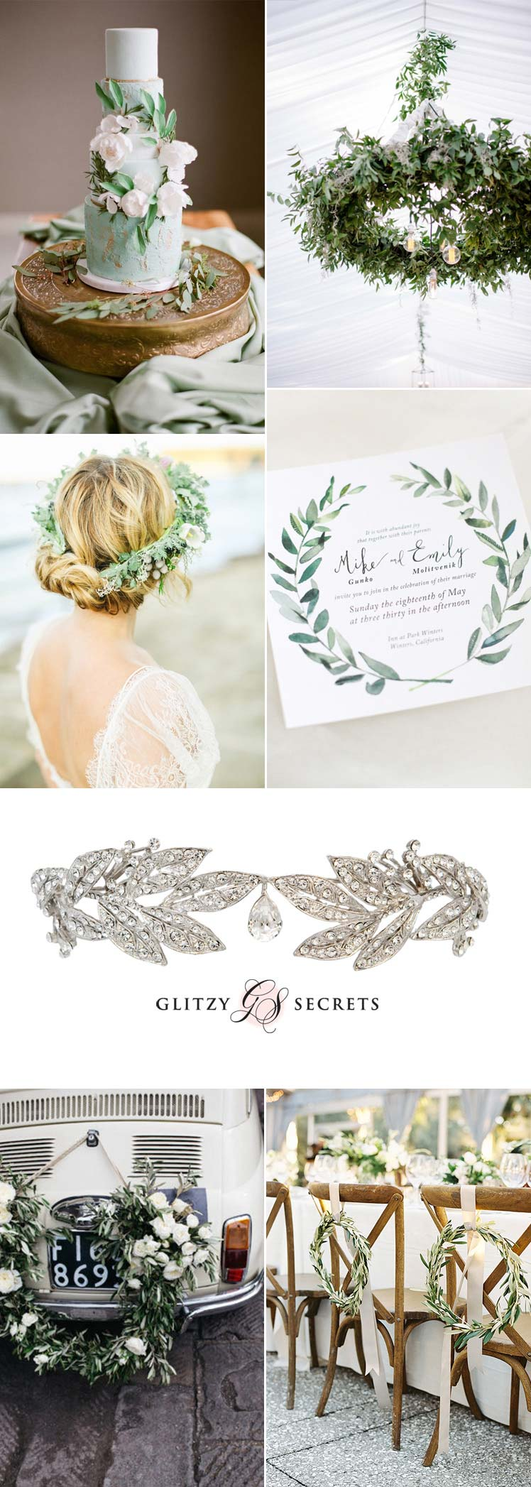 laurel leaf wedding ideas