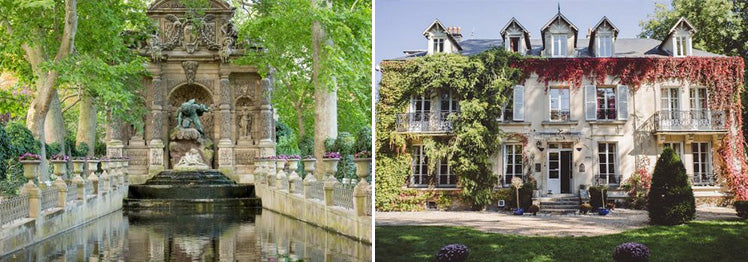 Luxembourg Gardens and XIXeme House - Paris wedding venues