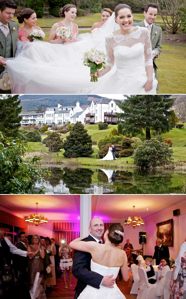 Lynsey and Colin's wedding day captured by Tandem Photography