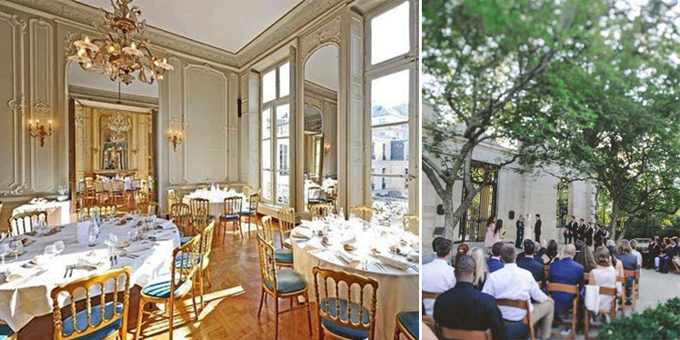 Maison des Polytechniciens and Musee Rodin - Paris wedding venues