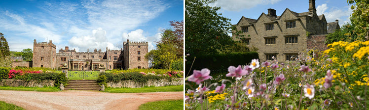 Muncaster Castle and Eyam Hall