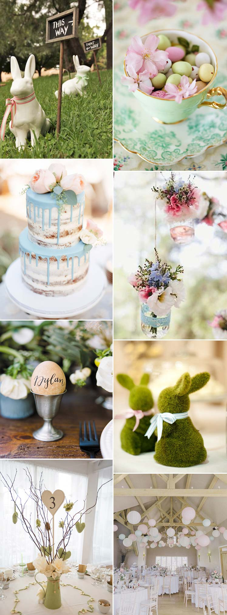 Pretty Easter wedding inspiration
