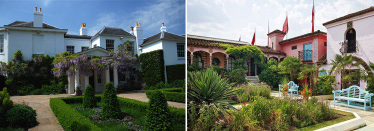 Pembroke Lodge and Kensington Roof Gardens