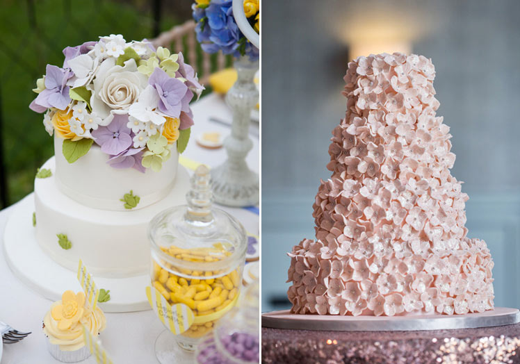 Prettiest floral wedding cakes ideas
