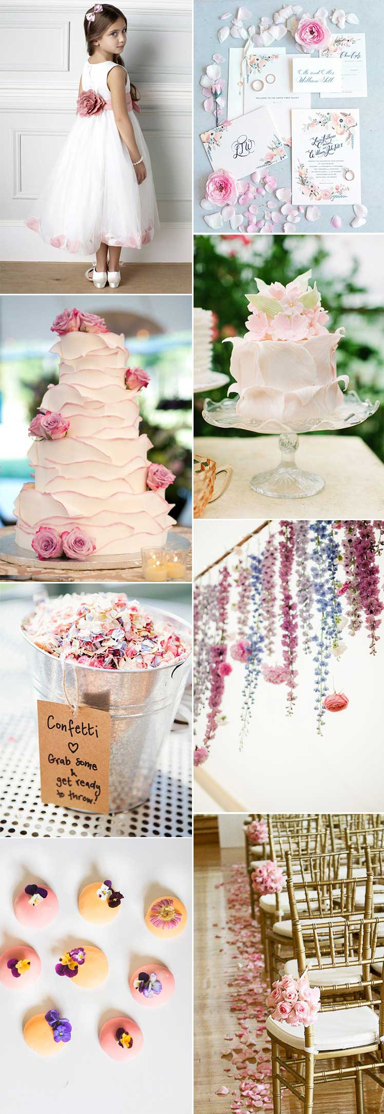 Pretty Petals Wedding Theme