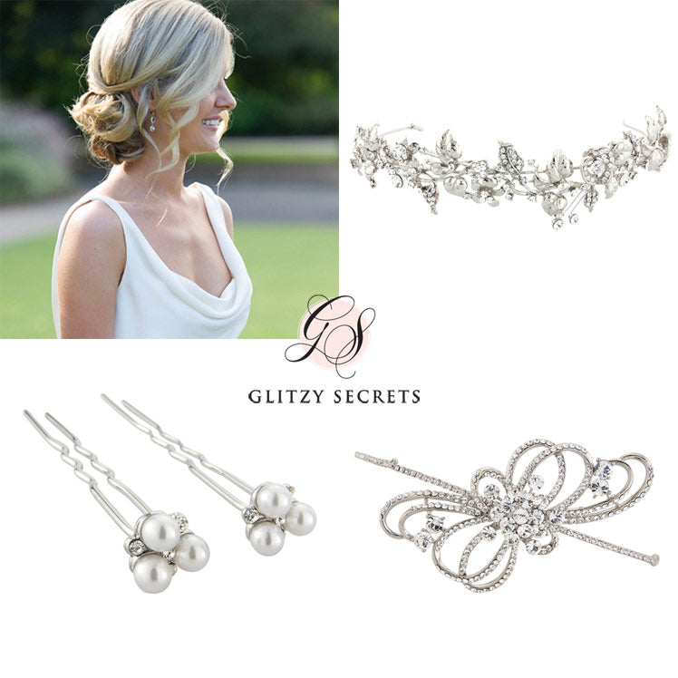 Wedding hair accessories for up do hairstyles