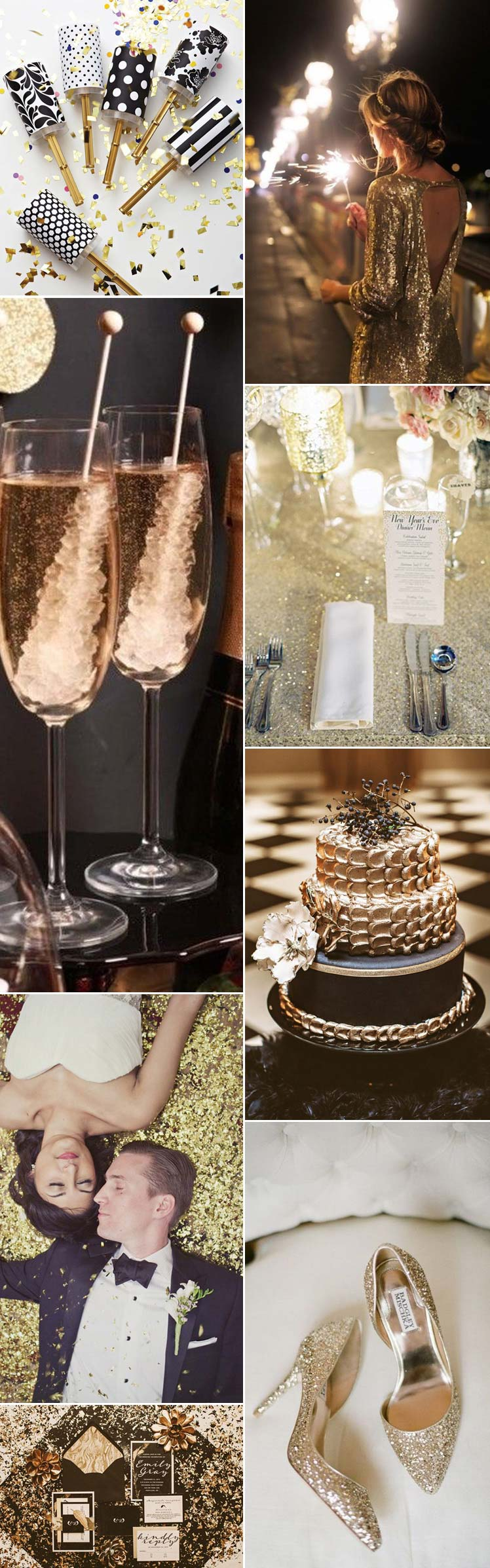 beautiful new years eve wedding ideas