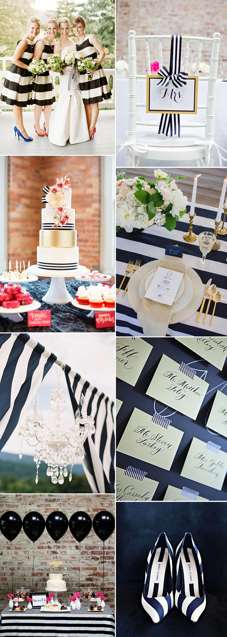 Stripe wedding inspiration for your special day