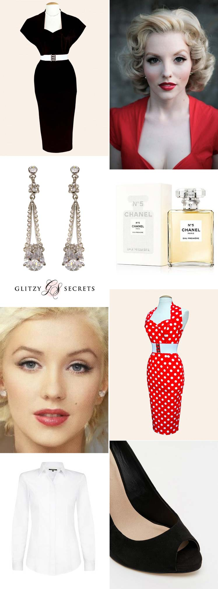 Be inspired by the style of Marilyn Monroe