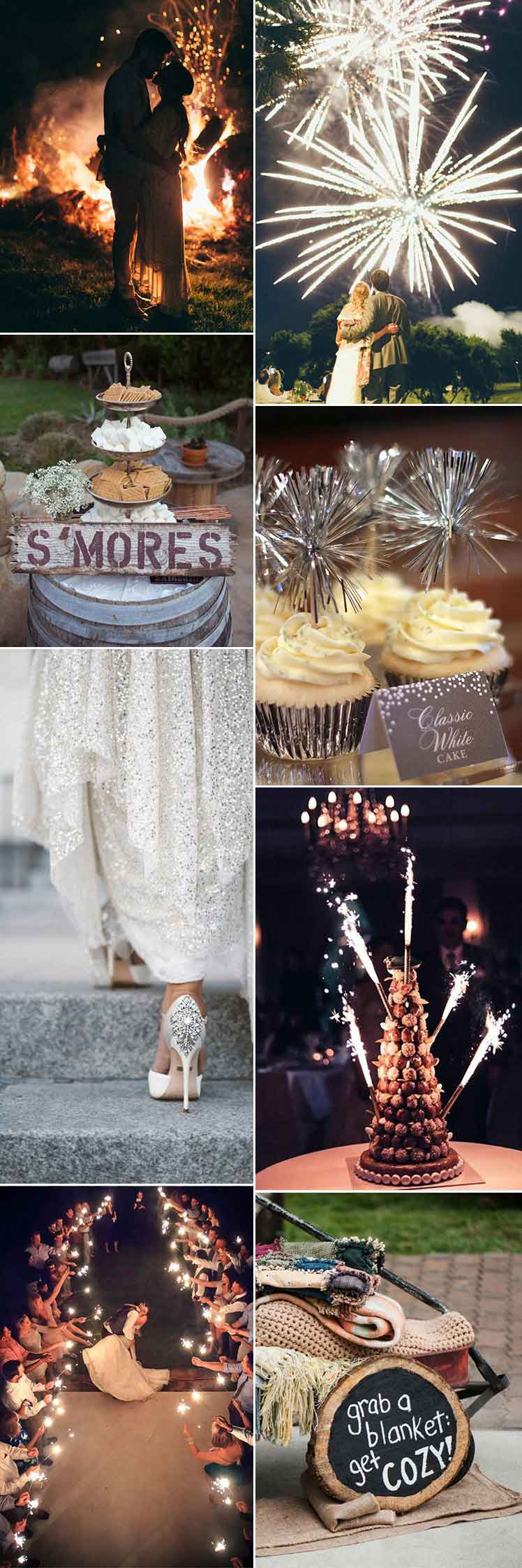 Bonfire Wedding Ideas