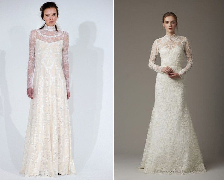 wedding dresses influenced by the Victorian era