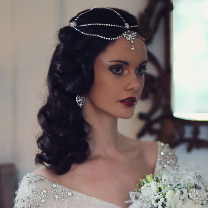 Vintage inspired headpiece range