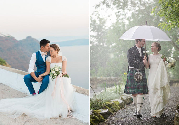 Getting married abroad or at home - consider the weather