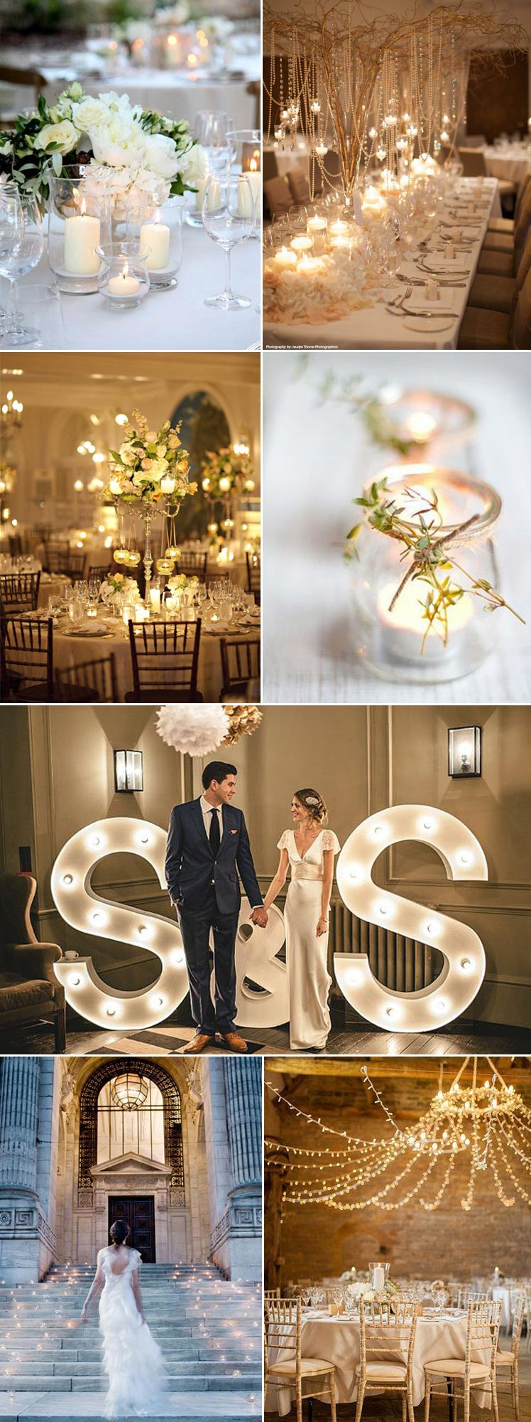 Stunning lighting ideas for your wedding day