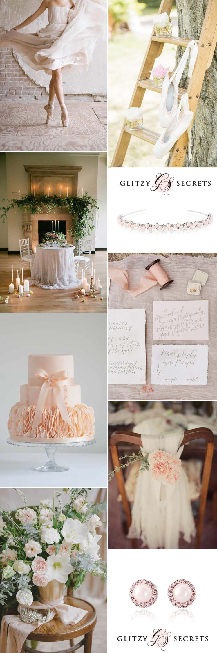 an elegant ballet themed wedding