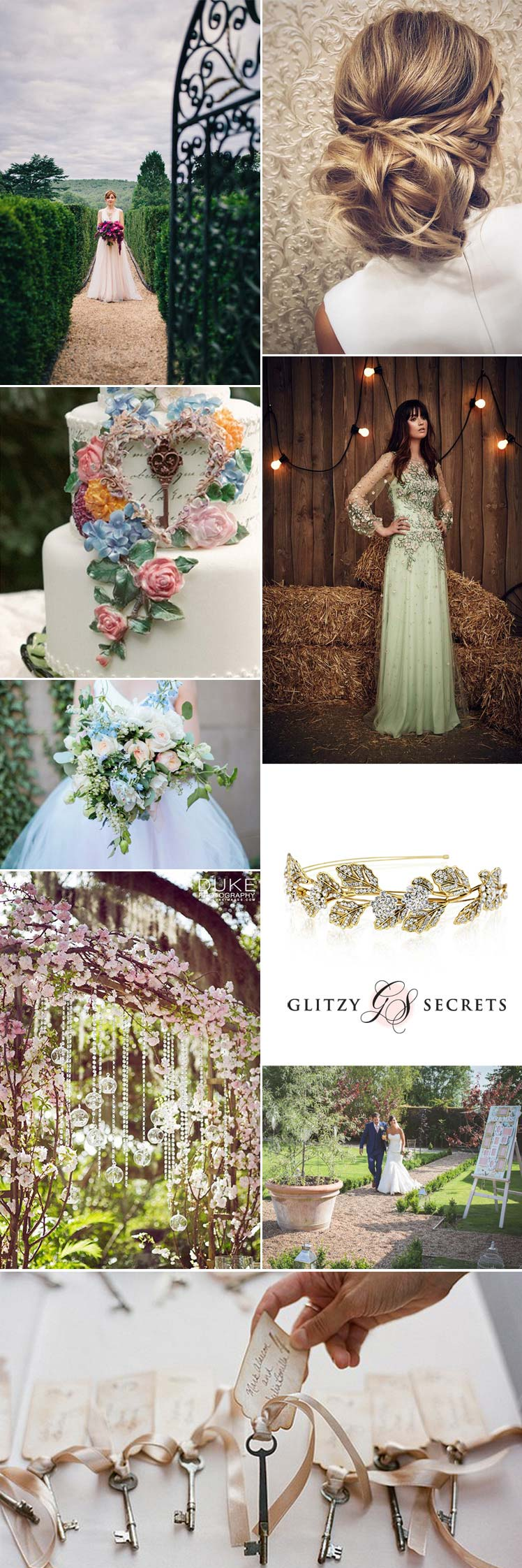 beautiful ideas for a secret garden wedding