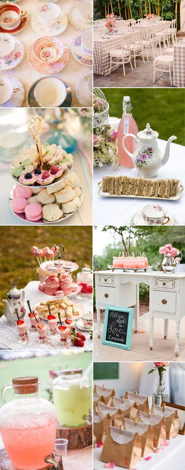 gorgeous inspiration for a vintage tea party