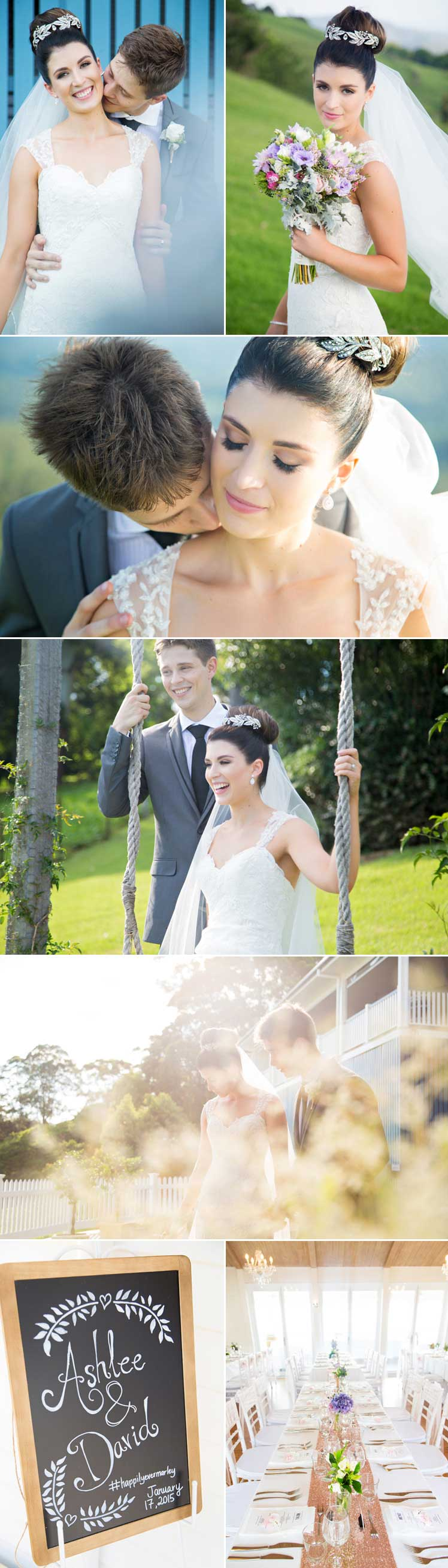 beautiful wedding images by Milque Photography