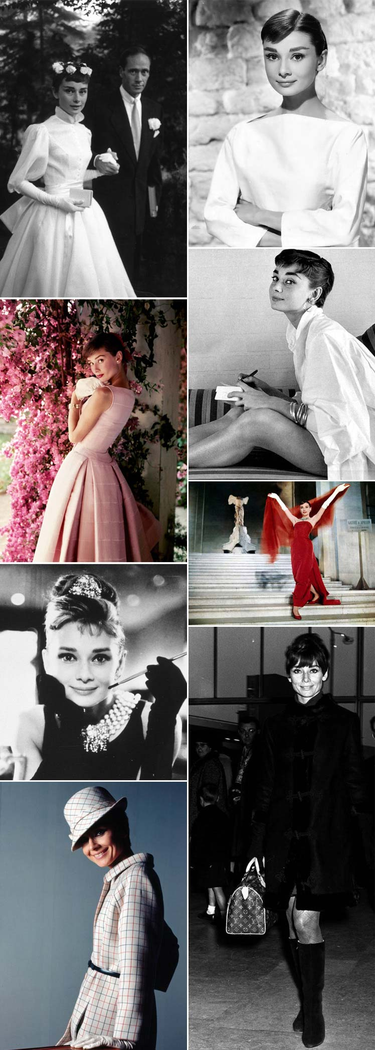 Celebrating Audrey Hepburn's style