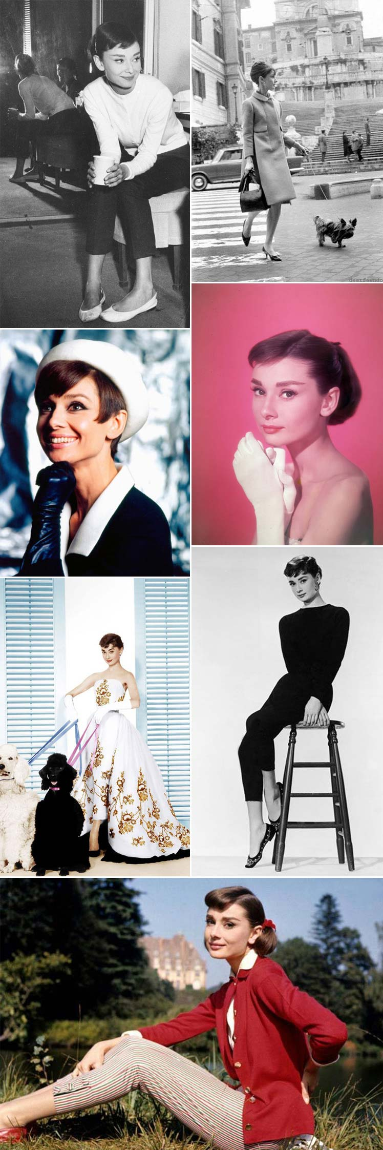 Take a look at the iconic style of Audrey Hepburn