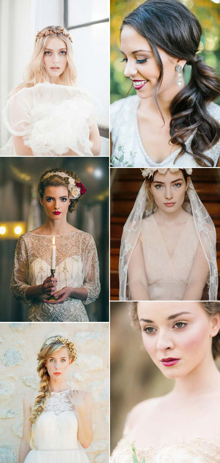 gorgeous Autumn wedding make up ideas