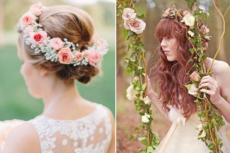 Pretty florals for your bridesmaids
