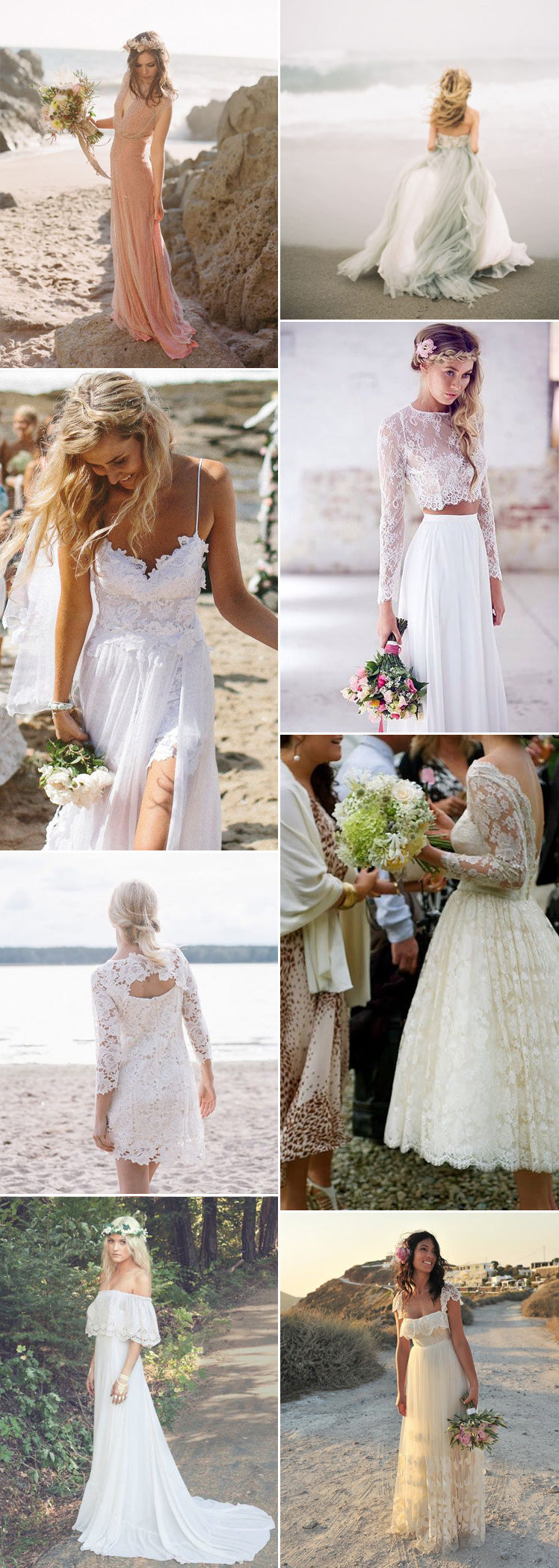beach wedding dresses we are sure you will adore
