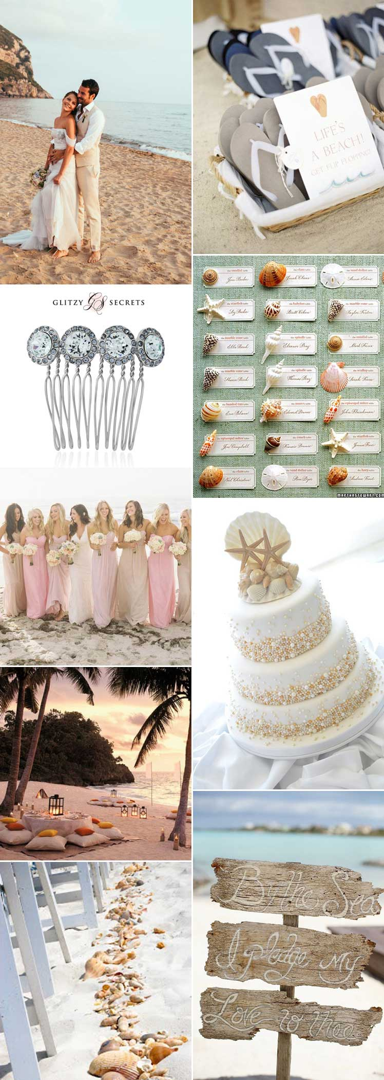 Dreamy beach wedding ideas for a romantic day