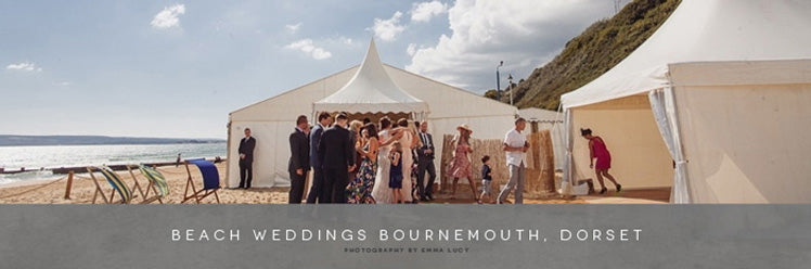 Beach Weddings Bournemouth based in Dorset