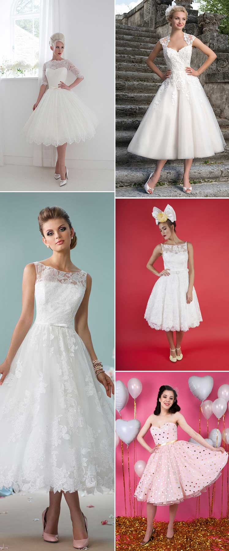 sensational short wedding dresses