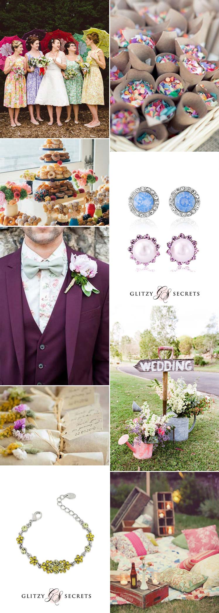 Wonderful spring wedding inspiration
