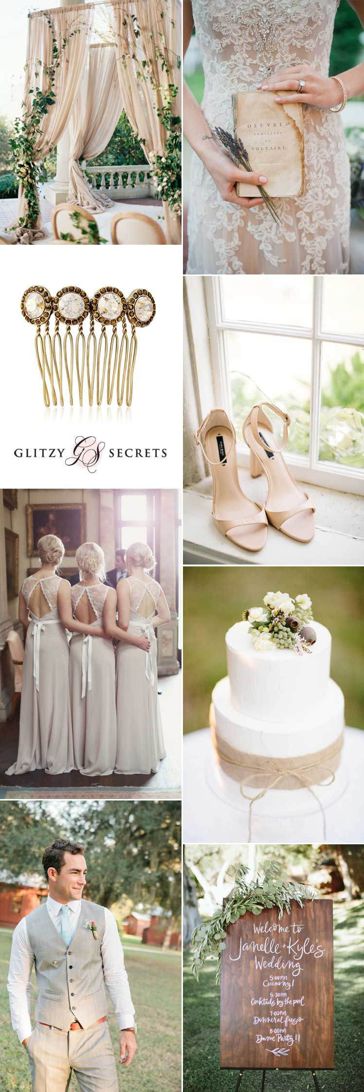 beautiful beige wedding ideas