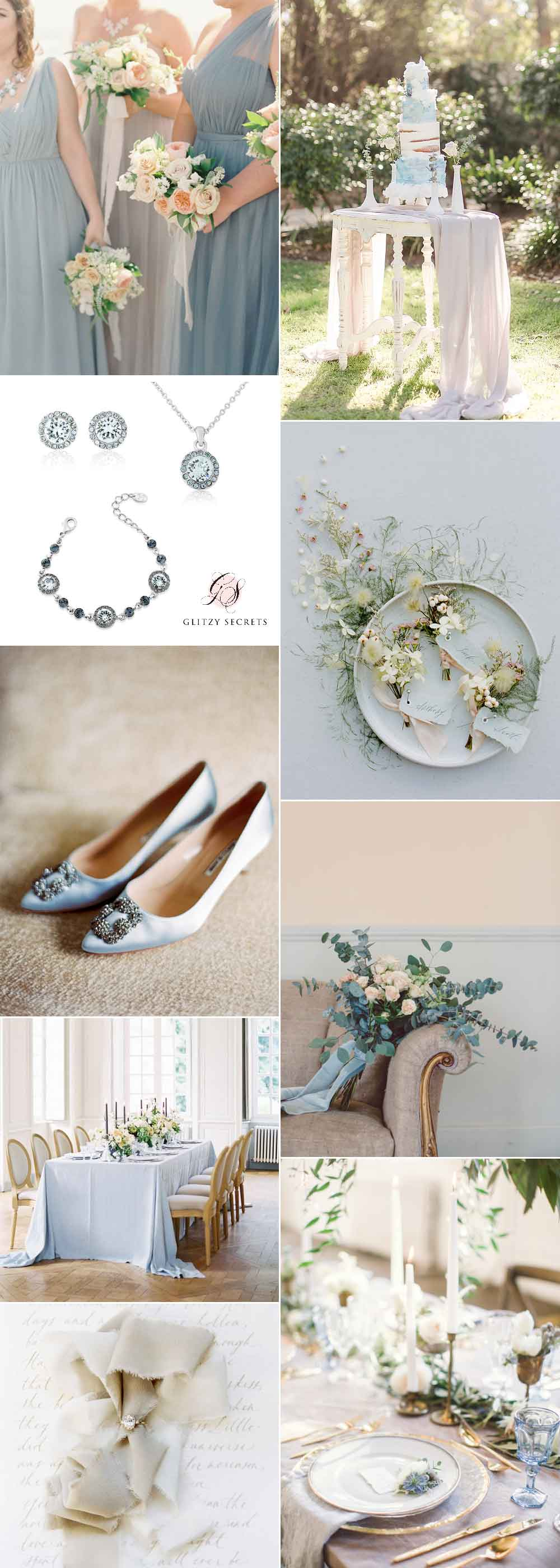 Blue and Beige wedding inspiration
