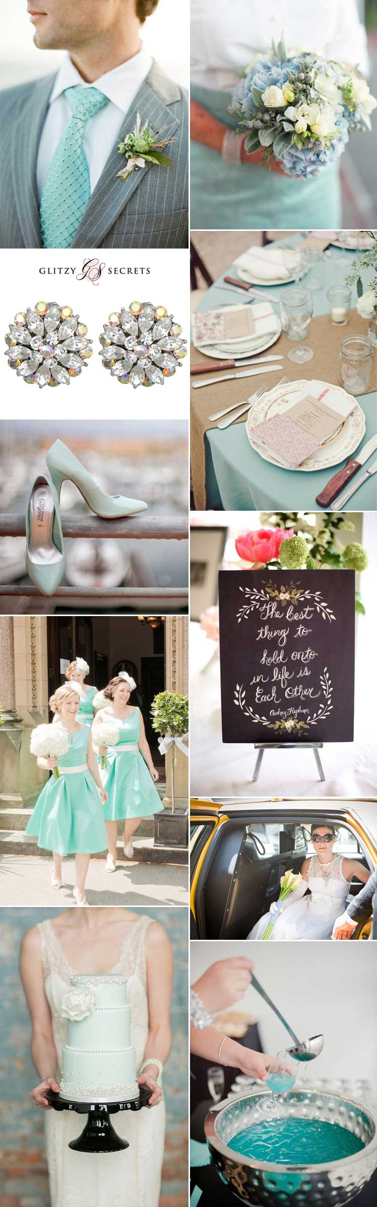 sensational ideas for a breakfast at tiffanys wedding