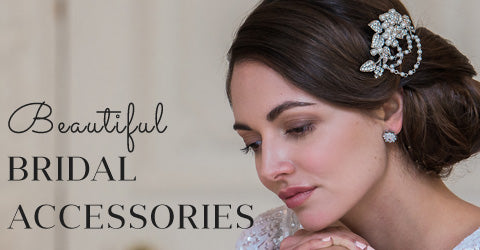 Shop our beautiful accessories for brides