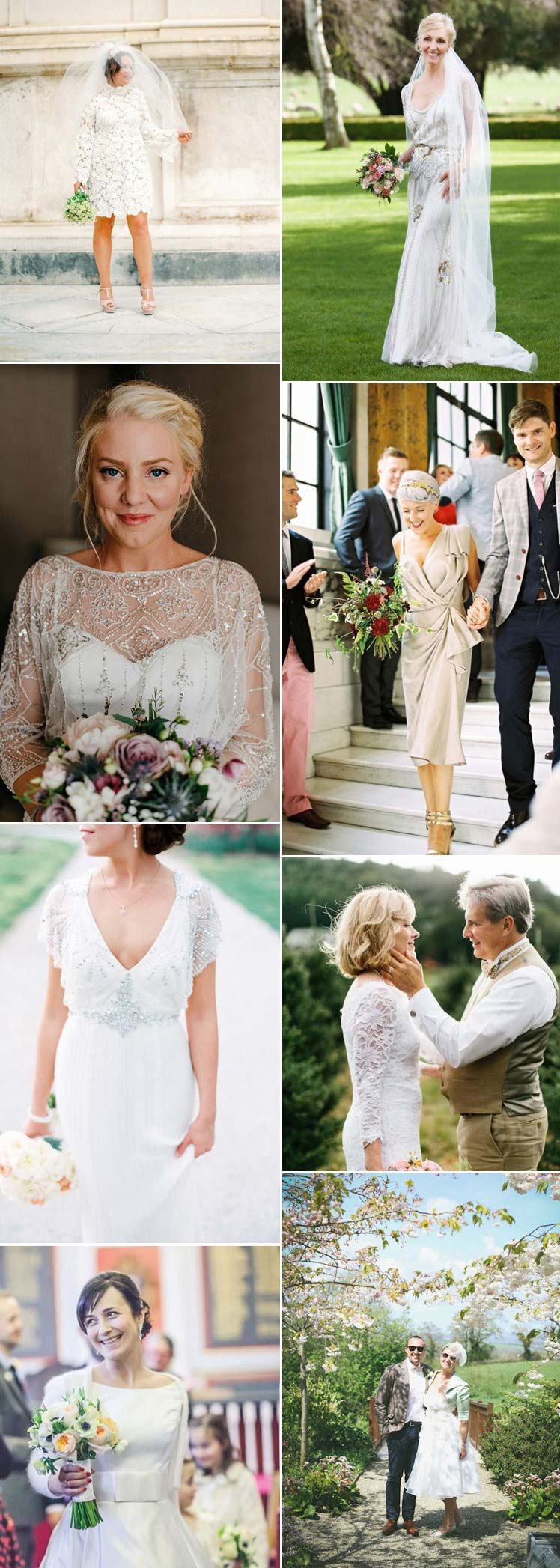 wedding dress styles for the over 40s