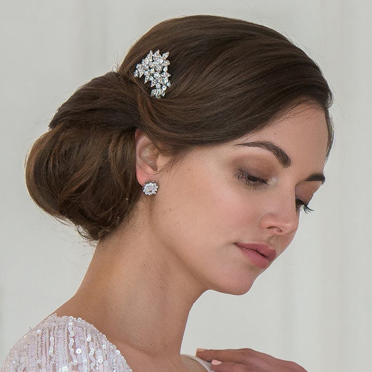 collection of diverse hair accessories for bridesmaids